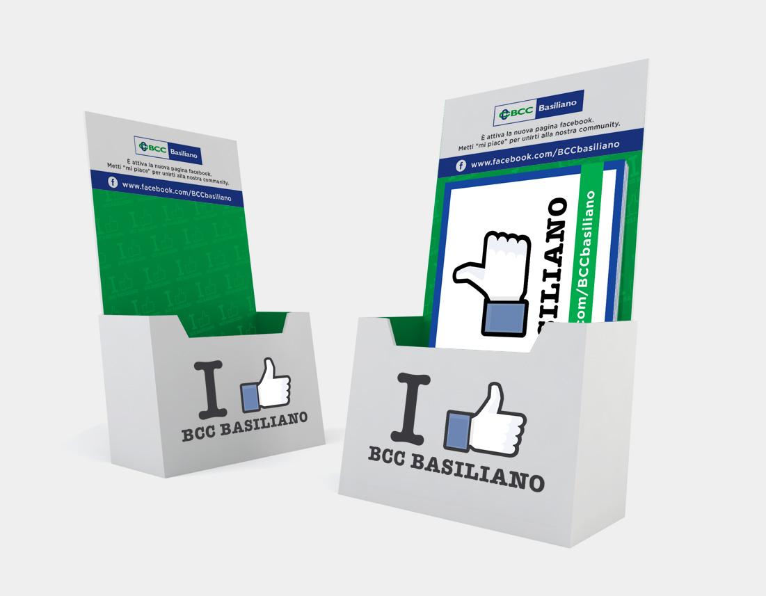 Espositore cartoline Bcc Basiliano
