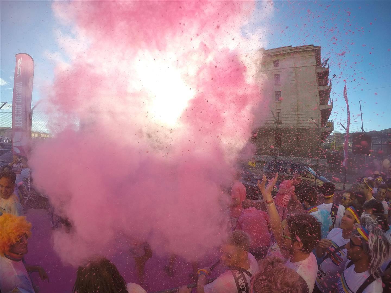Immagine della Color Run di Trieste