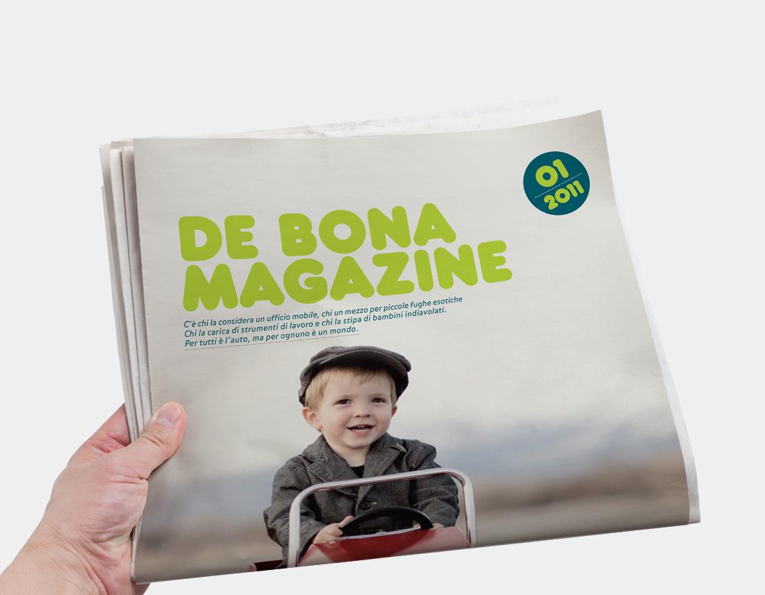 Rivista e house organ De Bona Motors