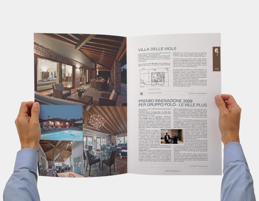 Brochure presentazione Gruppo Polo Le Ville Plus