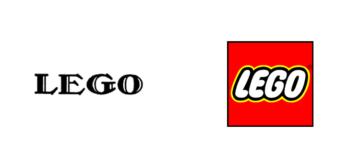 Restyling logo Lego