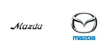 Restyling logo Mazda