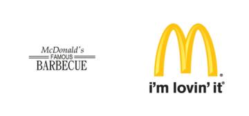 Restyling logo Mc Donald