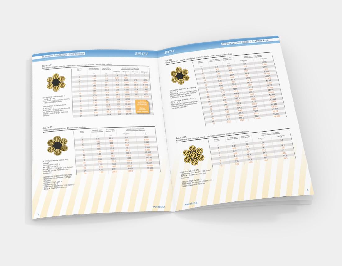 Cataloghi prodotto e scheda tecnica Sirtef