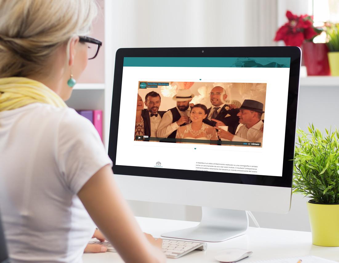 Web design sito internet VideOke