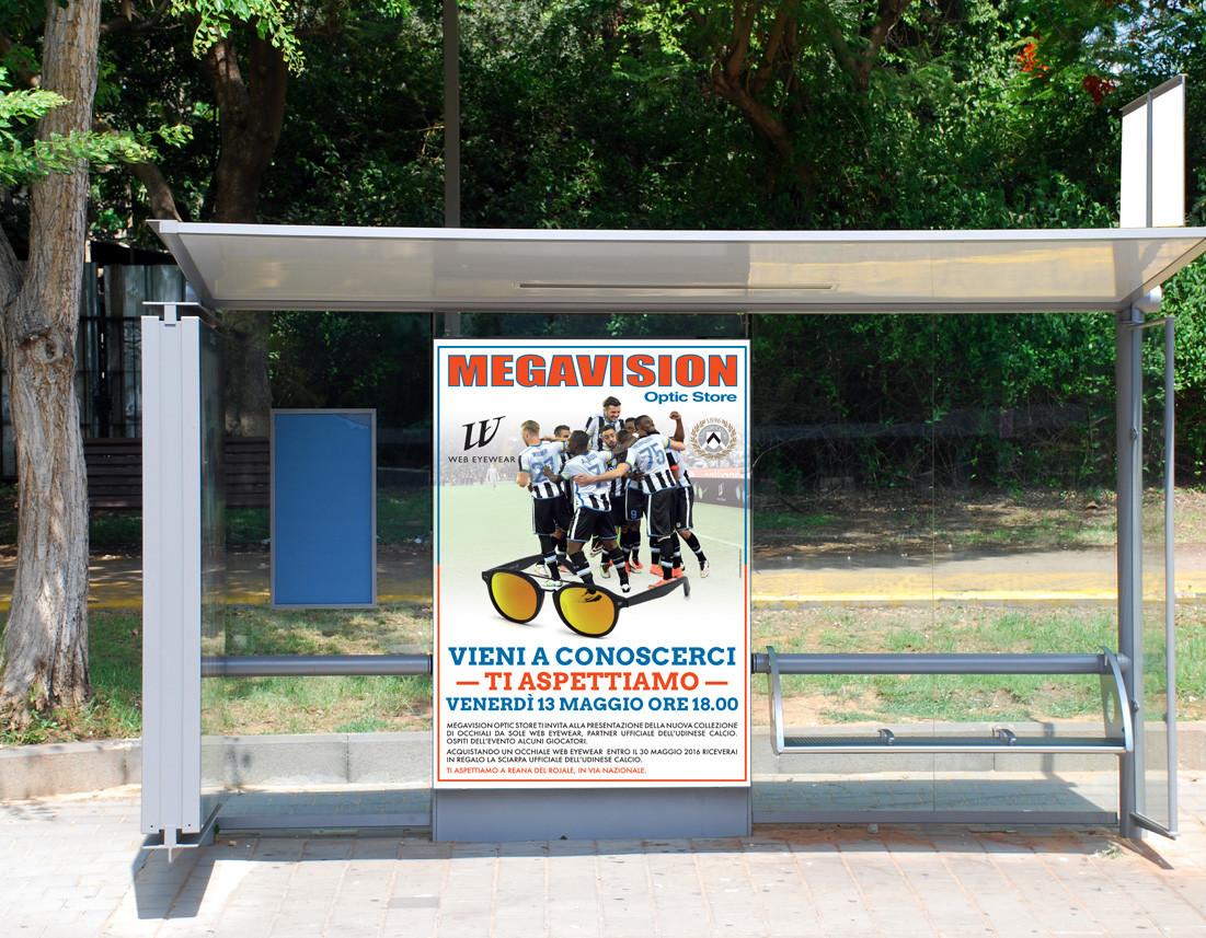 pubblicità udinese web-eyewear megavision