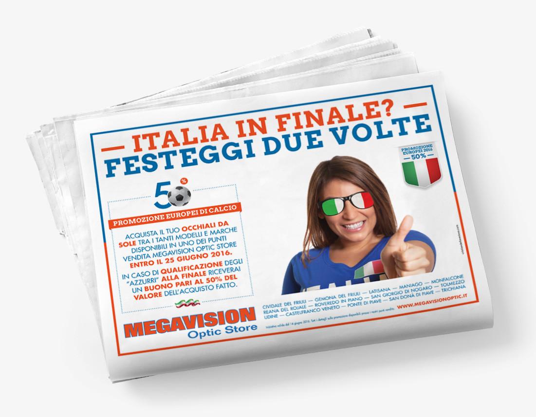 campagna pubblicitaria megavision europei 2016