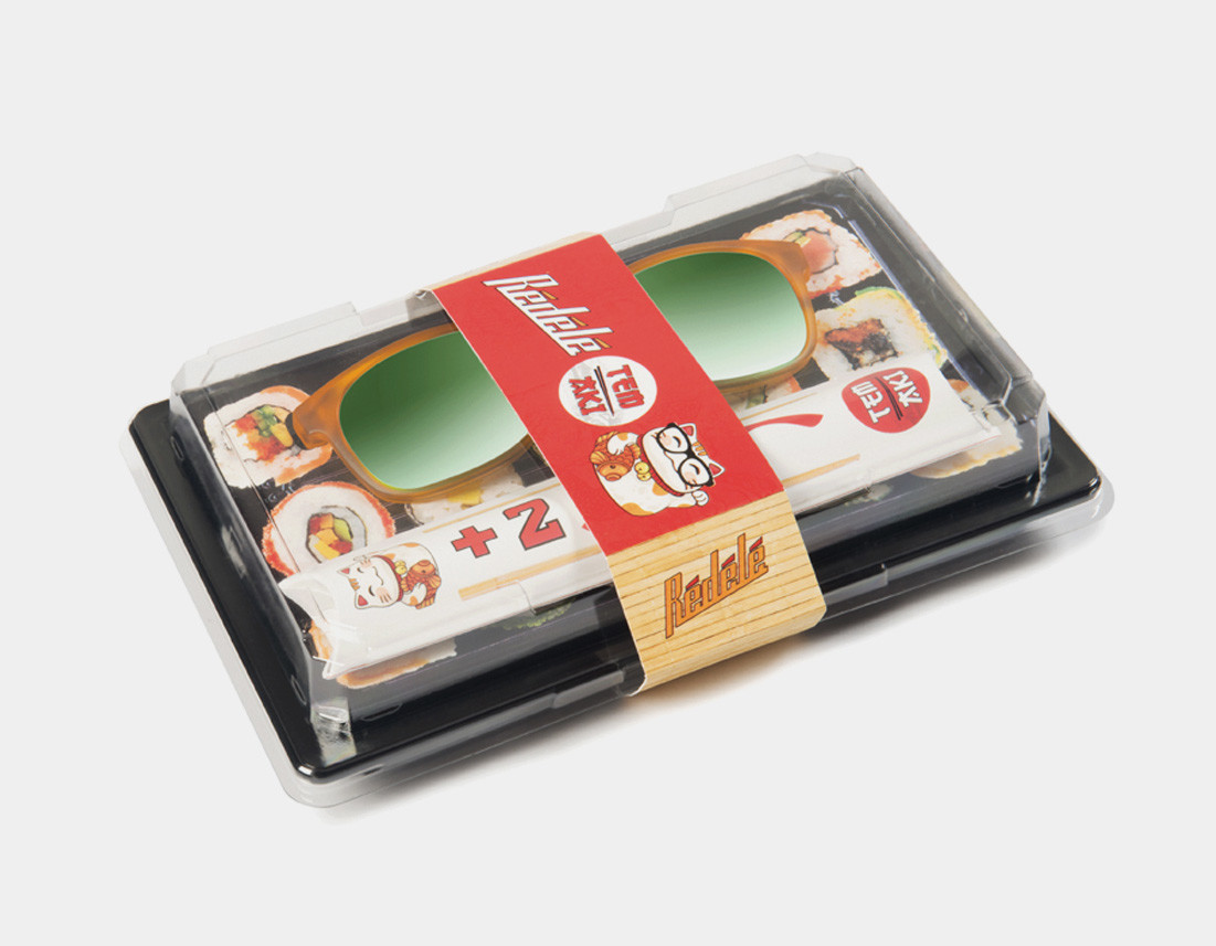 Rédélé packaging Sushi