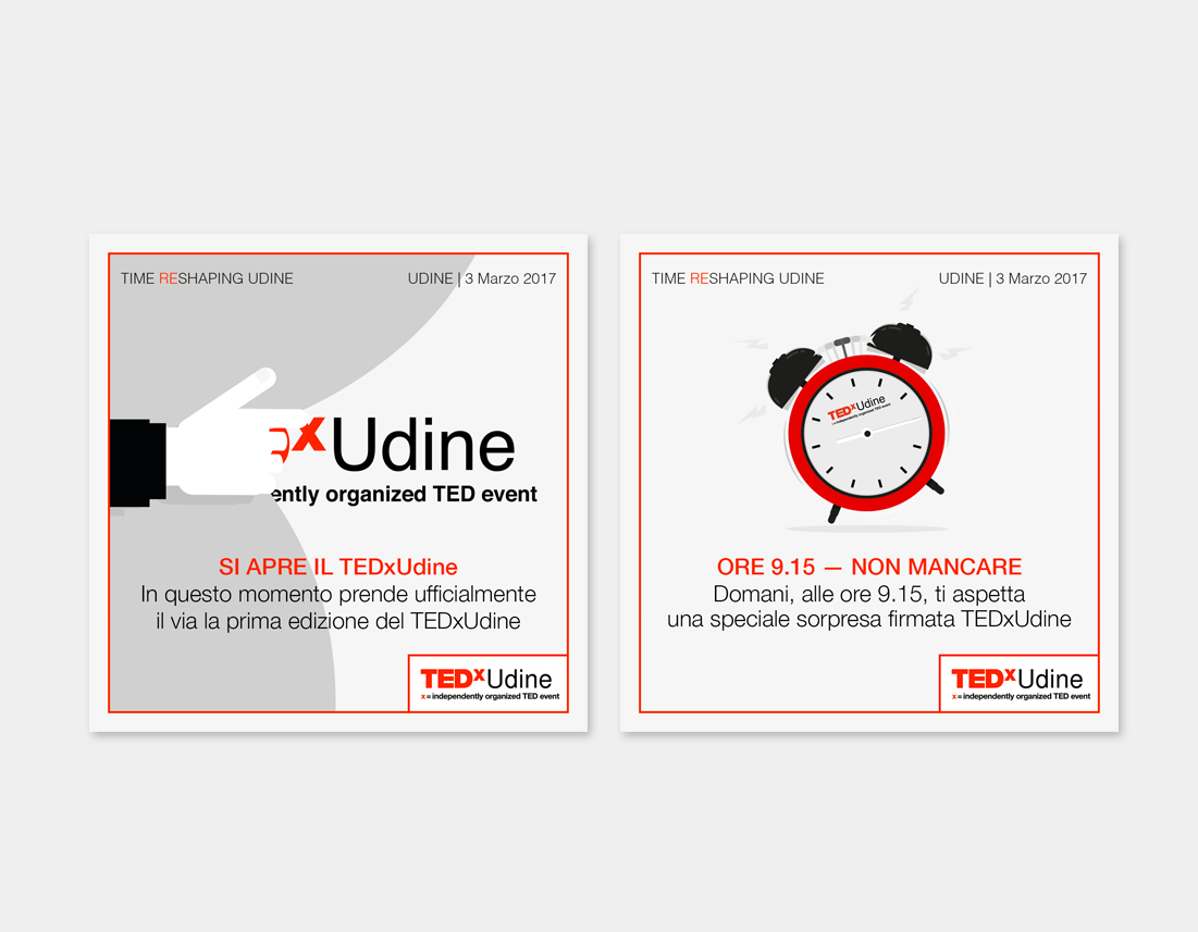 social media TEDxUdine