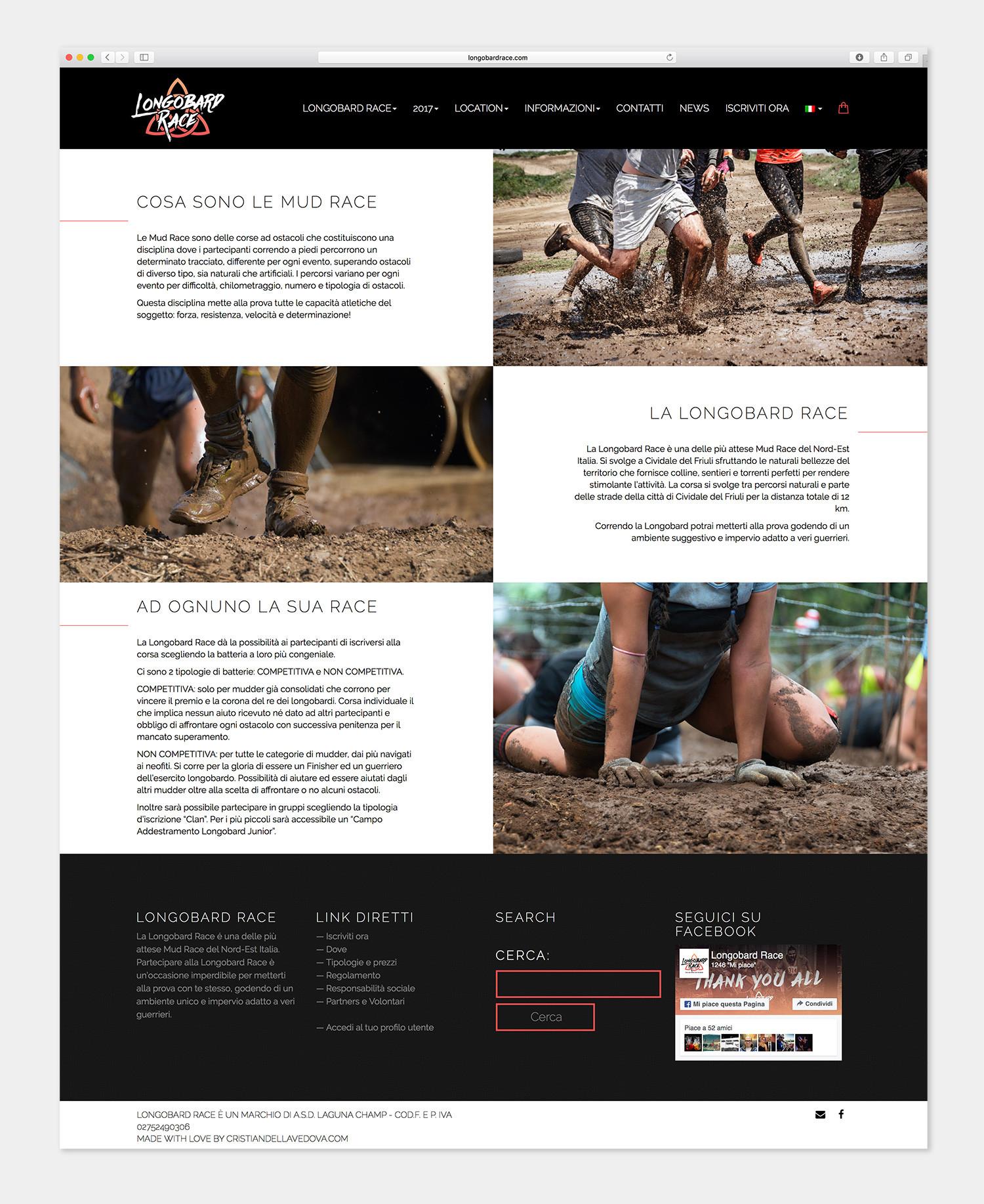 Longobard Race - Mud Race - Udine