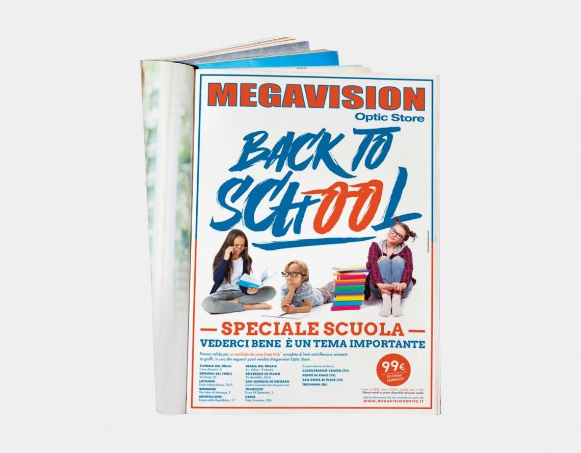 megavision udine pubblicità back to school